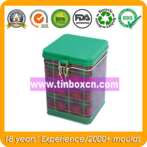 Square Metal Tea Box for Food Tin Container pictures & photos
