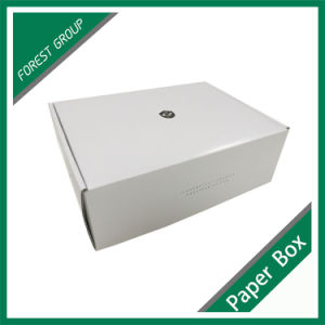 Fsc Certificate Recycled Custom White Cardboard Shoe Box pictures & photos