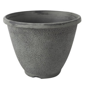 Grey Stone Pattern Plastic Flower Pot Wedding Pot