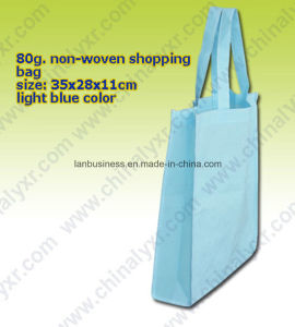 Unicolor Ecofriendly Nonwoven Shopping Bag pictures & photos