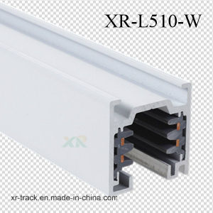 Square Aluminum 4 Wires Track for LED Track Lighting (XR-L510) pictures & photos