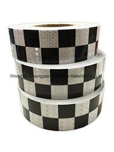 Multi Color Grid Design Reflective Material Retro Reflective Tape (C3500-G) pictures & photos