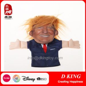 Plush Funny Donald Trump Handpuppets American President Educational Toy pictures & photos