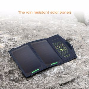 5V 10W Foldable Solar Charger Outdoor Portable Solar Panel Charger pictures & photos