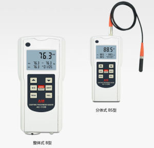Bluetooth Data Output Statistical Type Coating Thickness Gauge pictures & photos