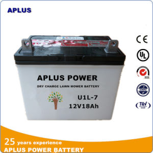 U1l-7 12V18ah Dry Charge Garden Tractor Lead Acid Battery pictures & photos