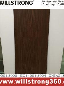PVDF Coat Walnut Wood Color Aluminum Composite Panel pictures & photos