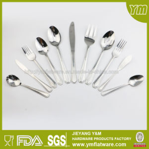 65PCS Stainless Steel Flatware Set in Color Box