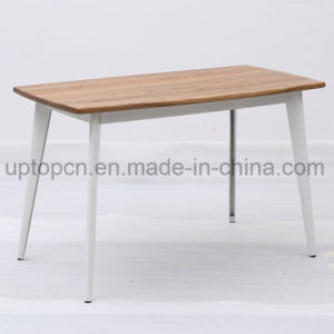 Wholesale Metal Frame High Bar Table with Durable Wooden Table Top (SP-RT558) pictures & photos
