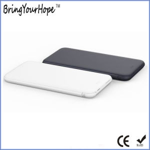 Use 5000mAh Card Power Bank for iPhone Samsung with Detachable Cable (XH-PB-236S) pictures & photos