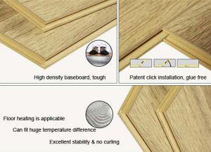 Glue Free PVC WPC Click Vinyl Flooring Tiles / Planks pictures & photos
