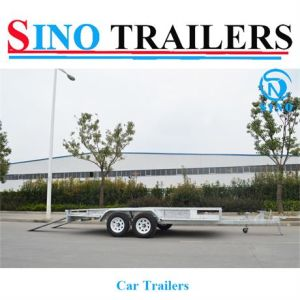 Competative Price 2 Axle Car Carrier Trailer