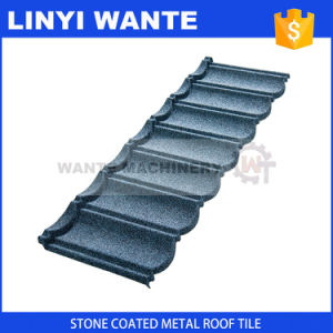 Hot-Selling Items Stone Coated Bond Roof Tiles with 1340X420X0.4mm Size pictures & photos