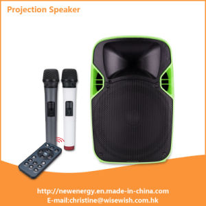 Professional Outdoor Indoor Home PRO Audio Projector Speaker with Trolley