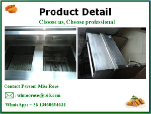 New Style Commercial Kitchen Equipment Stainless Steel Standing Electric Fryer pictures & photos
