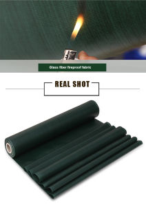 Flame-Resistance Glass Fiber PVC Coated Tarpaulin for Cover/Tent pictures & photos