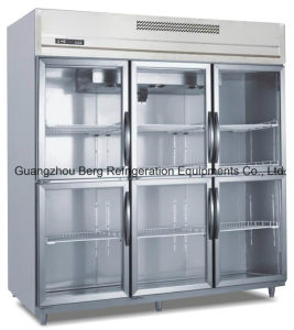 Commercia Kitchen Equipment Stainless Steel Upright Refrigerator pictures & photos