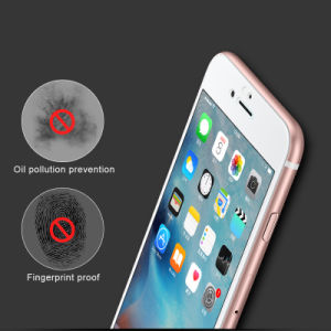 Silk Printing Edge Enhancement Tempered Glass Screen Protector for iPhone 6/7 pictures & photos