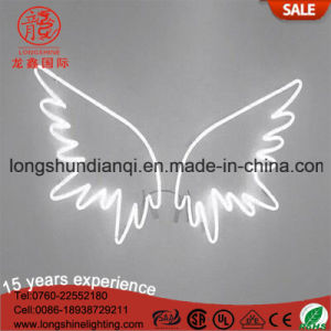 New Angel Wings Wall Home Decor Handcrafted RGB Neon Sign for Decoration pictures & photos