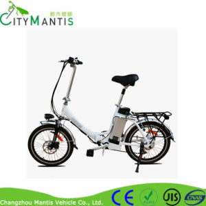 Aluminum Alloy Folding E-Bike with Hidden Battery pictures & photos