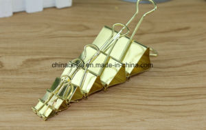 Golden Color Binder Clips, Manufacturer of Golden Color Binder Clips, China Binder Clips, Binder Clips Factory pictures & photos