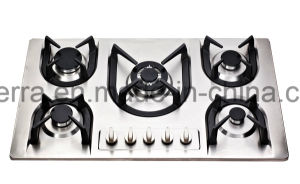 Cooking Stove Five Burners Gas Cooktop Gas Hob Jzs85207 pictures & photos