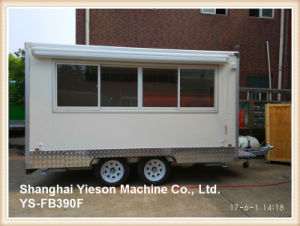 Ys-Fb390f 3.9m White Food Truck Mobile Food Trailer Ice Cream Van pictures & photos