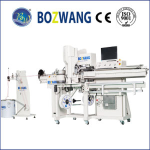 Double Ends Terminal Crimping Machine with Cable Marker Tube Inserting pictures & photos