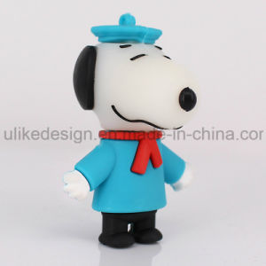 Blue Hat Snoopy PVC USB Flash Drive (UL-PVC017-02) pictures & photos