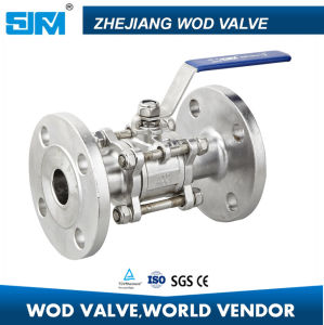Flange Ball Valve (3PC) pictures & photos
