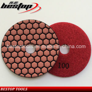 High Quality Marble Slab Diamond Abrasive Pad Dry Used pictures & photos