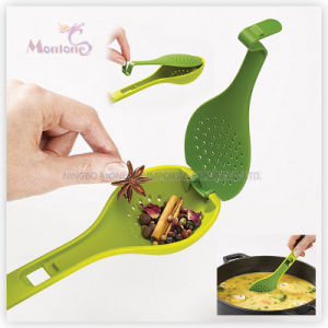 Tableware Plastic PP Flavoring Spice Soup Spoon with Cover pictures & photos