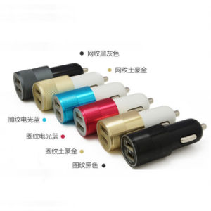 5V 3.1A Universal Portable 2 Port USB Car Charger Adapter pictures & photos