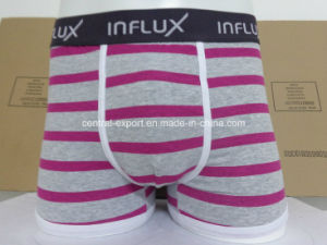 Stripe Fashion Cotton Sexy Men′s Boxer Short Men′s Underwear pictures & photos