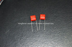 Metallized Polyester Film Capacitor Cl21 Capacitor for LED Lighting pictures & photos