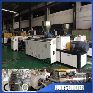 PVC Wire Conduit Pipe Making Machine pictures & photos