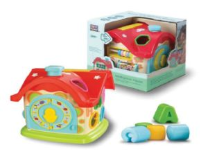 Kids Plastic Educational Intelligence House Baby Toy pictures & photos