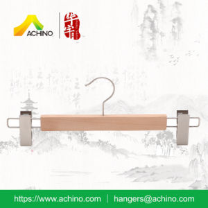 High Quality Wooden Pant Hangers pictures & photos