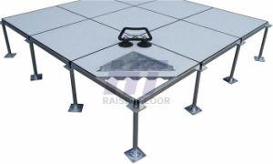 600*600*35mm Anti-Static HPL Raised Floor with Printed Edge Trim (smart edge) pictures & photos