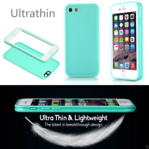 Mobile Phone Utral Thin TPU Slim Cover Waterproof Case for iPhone7 7plus pictures & photos