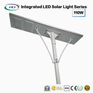 High Power All-in-One Solar LED Street Light 110W pictures & photos
