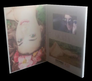 Customized Size and Printing Video Booklet pictures & photos