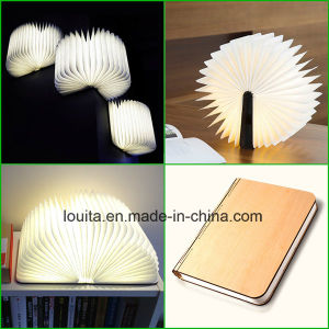 Foldable Reading Book Light with USB Charger pictures & photos