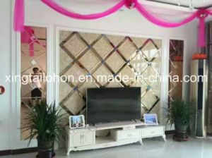 Selling Building Patterned Clear Glass pictures & photos