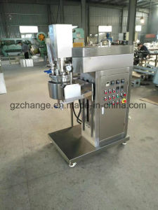 GMP 5L Lab Vacuum Emulsifying Mixer pictures & photos