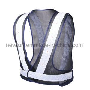 Wholesale Mesh LED Reflective Safety Vest pictures & photos