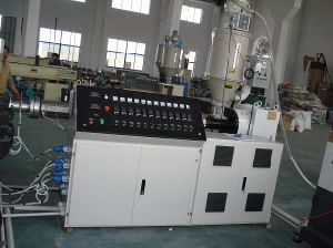 Single Screw Extruder HDPE Pipe Extrusion Line pictures & photos
