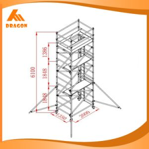 Equipment Aluminum Scaffolding for Sale, Concert Scaffolding System pictures & photos