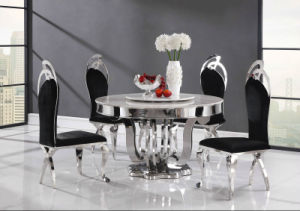 Manmade Marble Banquet Table for Restaurant pictures & photos
