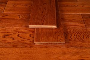 Pure Solid Wood Floor for Children Room pictures & photos